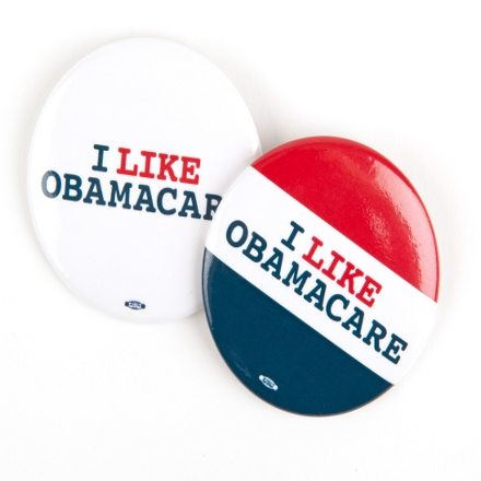 I Like Obamacare Buttons