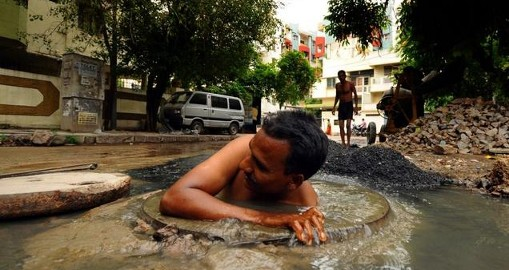 Manual scavenging dalit